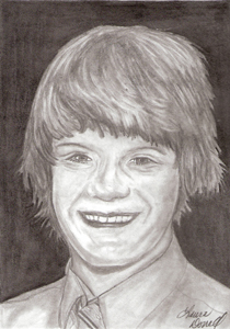 A Boy's Portrait - Pencil